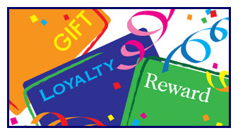 Loyalty Reward Gift Cards
